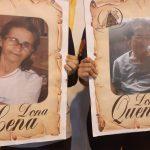 As Homenageadas Quena e Lena